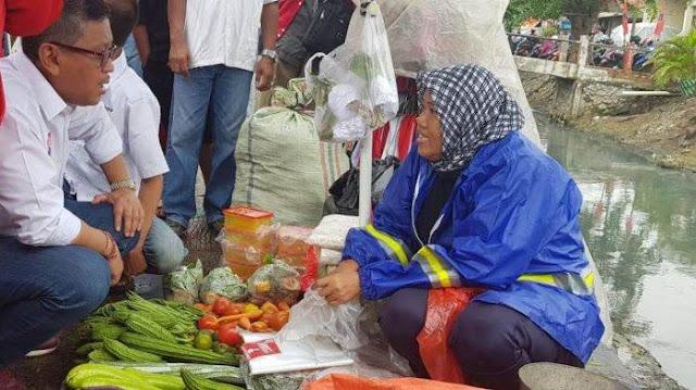 Pedagang Pasar Cakung Mengadu Soal Perilaku Sandiaga Uno Ke Hasto