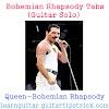 Bohemian Rhapsody Tabs (Guitar Solo) - Queen Tabs And Sheet