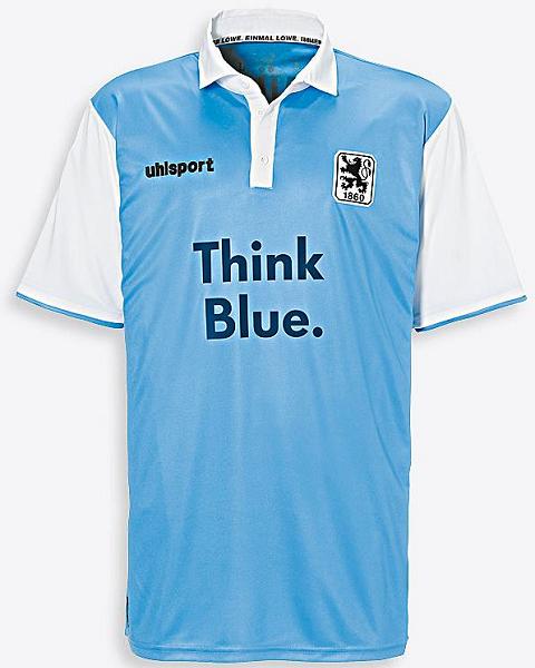 Uhlsport apresenta as novas camisas do 1860 München - Show de Camisas 4d39659374955