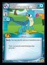 My Little Pony Gallus, Student of Friendship Friends Forever CCG Card