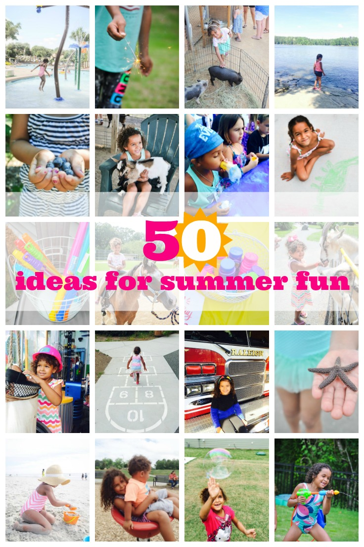 50 FUN summer activities for kids