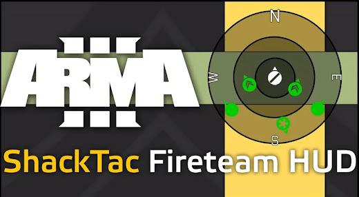 arma3用 ShacTac Fireteam HUD MOD