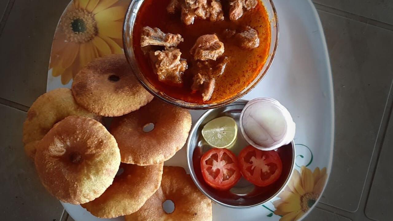 कोंबडी वडे - पाककला | Kombadi Vade - Recipe