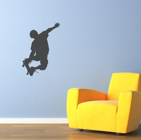 Awesome Skateboarder Decal