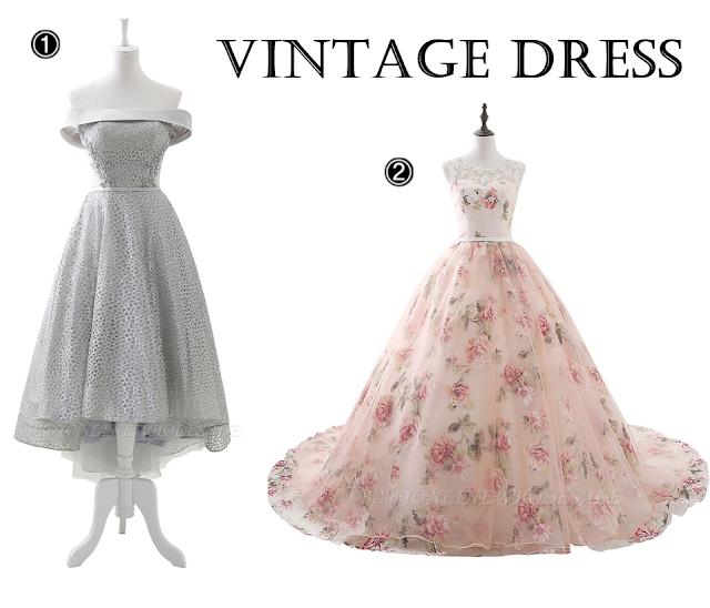Inspiração: Vestidos de Festa Retrô/Vintage Inspired