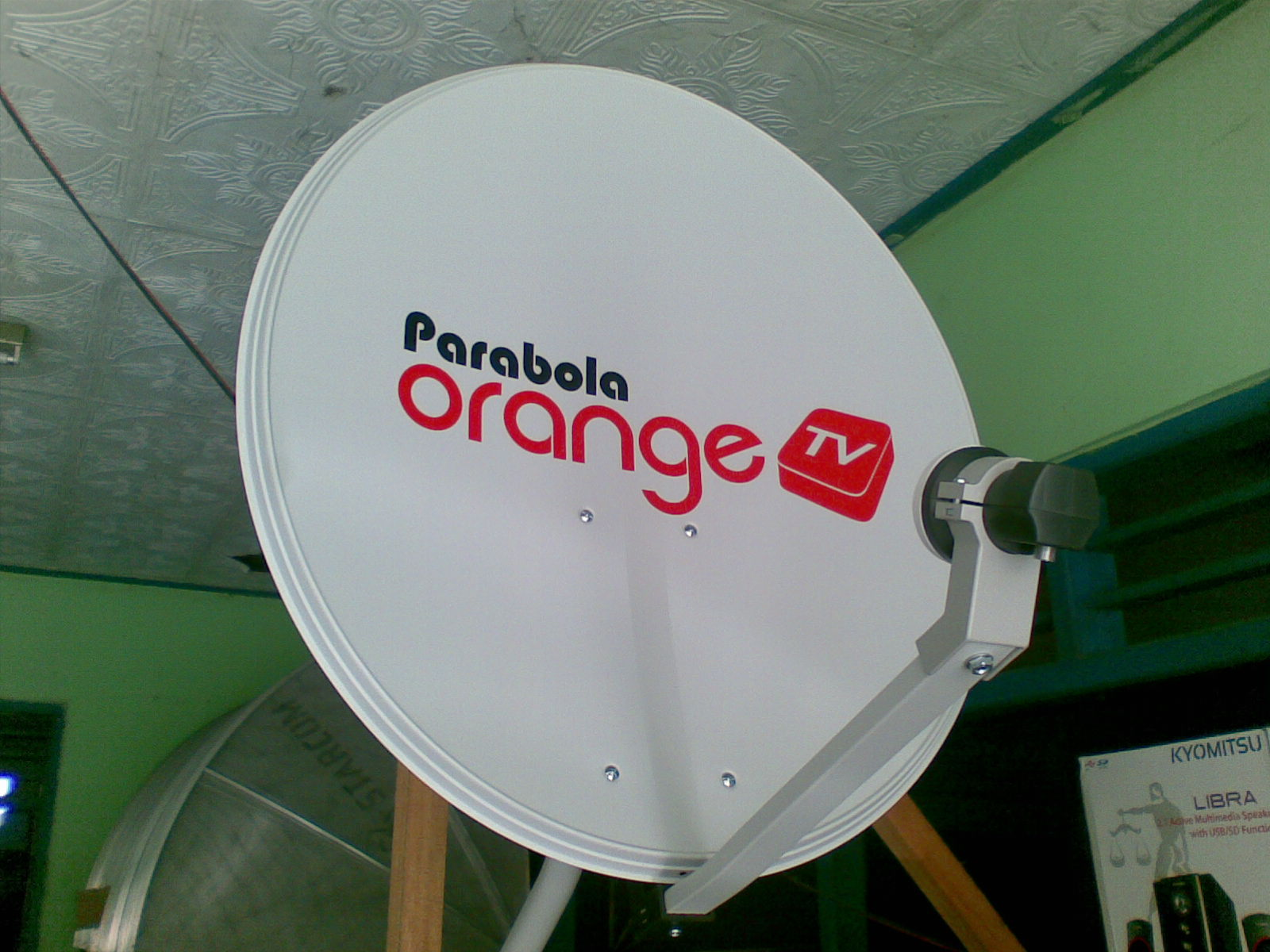 bsr parabola Gombong ,Kebumen: PARABOLA ORANGE TV