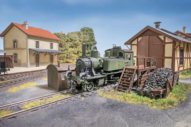 Pottendorf' - A Shortline In Bavaria - HO & OO Scale - Model