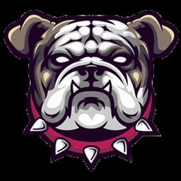 logo anjing bulldog keren