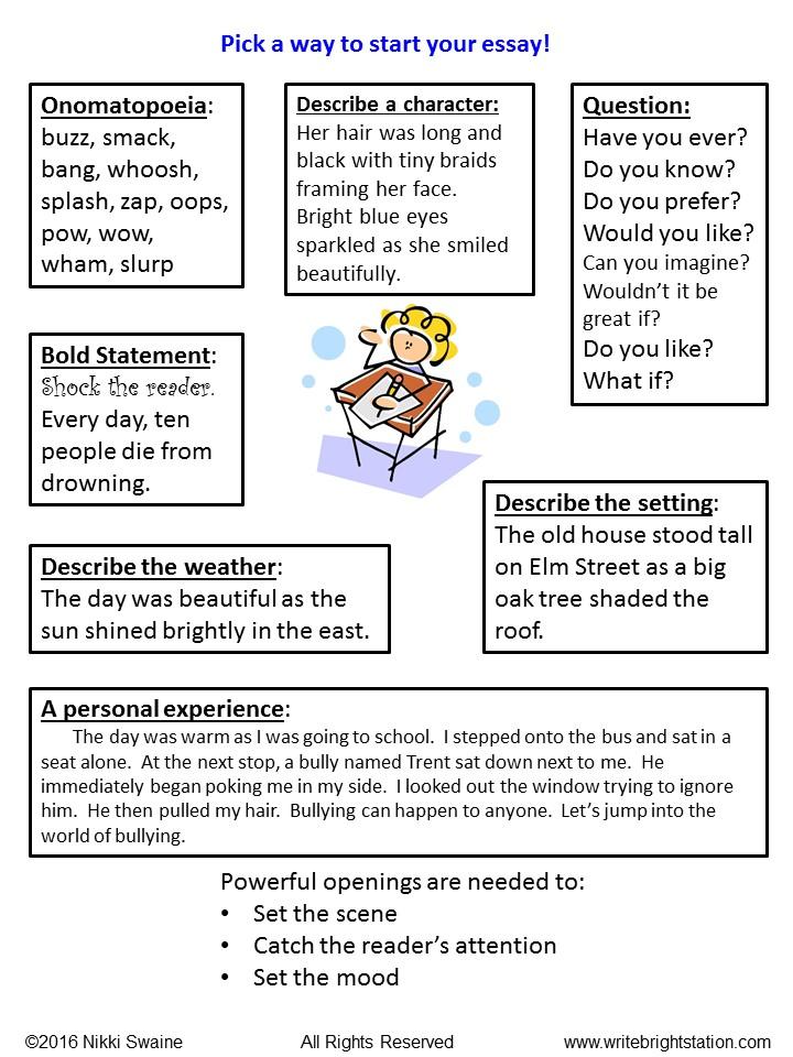 The reader essay