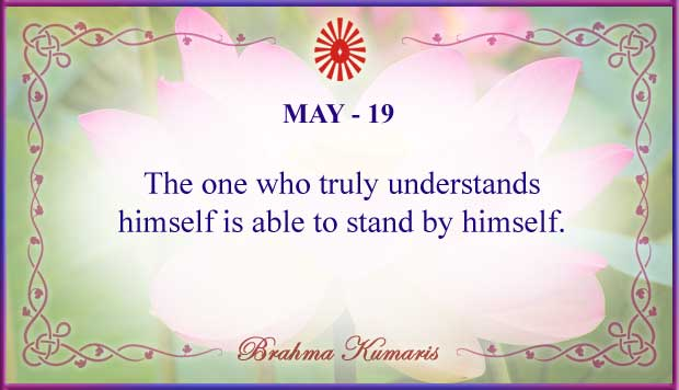 Thought For The Day May 19
