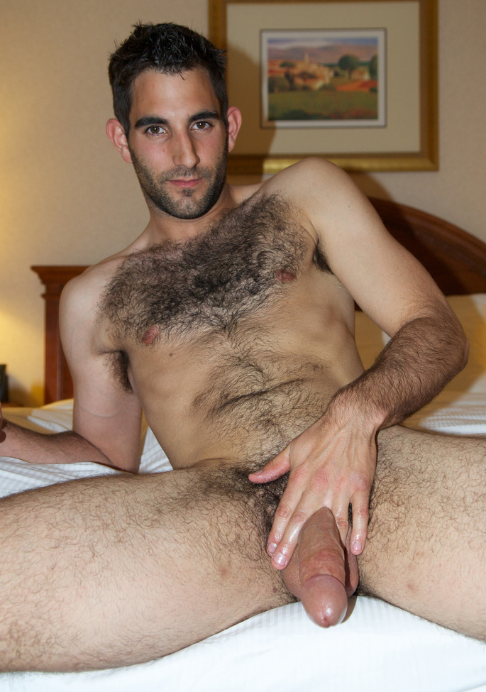 Two naked hairy men — 2