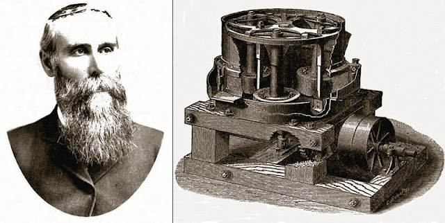 Frank Atwood Huntington invented the Gold Ridge Mine's rock crusher and other mining related machinery.