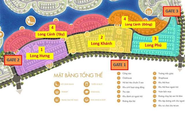 Vinhomes Thăng Long - Nam An Khánh - Biệt thự, liền kề, shophouse