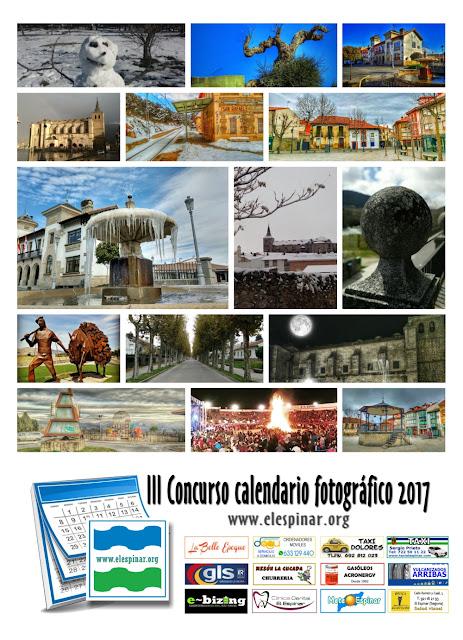 Concurso calendario fotográfico 2017