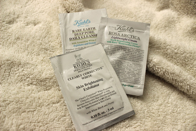 kiehl's samples
