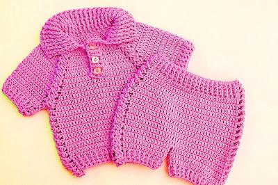 8 - Crochet IMAGEN pantalon a juego con jersey a crochet muy facil y rapido MAJOVEL CROCHET