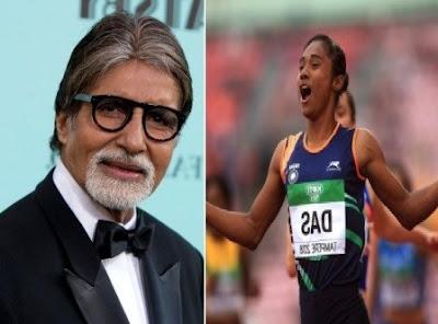 #instamag-congratulations-hima-das-says-amitabh-bachchan