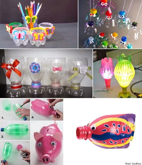 Kerajinan Tangan Dari Botol Dan Gelas Plastik