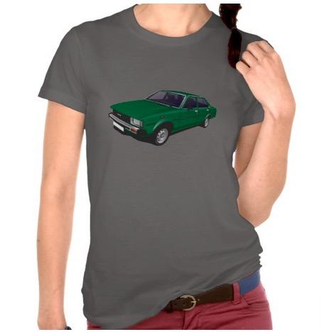 toyota, corolla, ke70, t-shirt