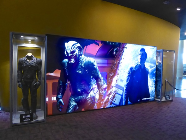 Star Trek: Beyond movie costume exhibit