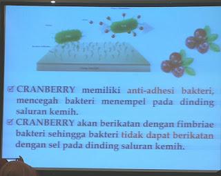 Cara Cranberry bekerja