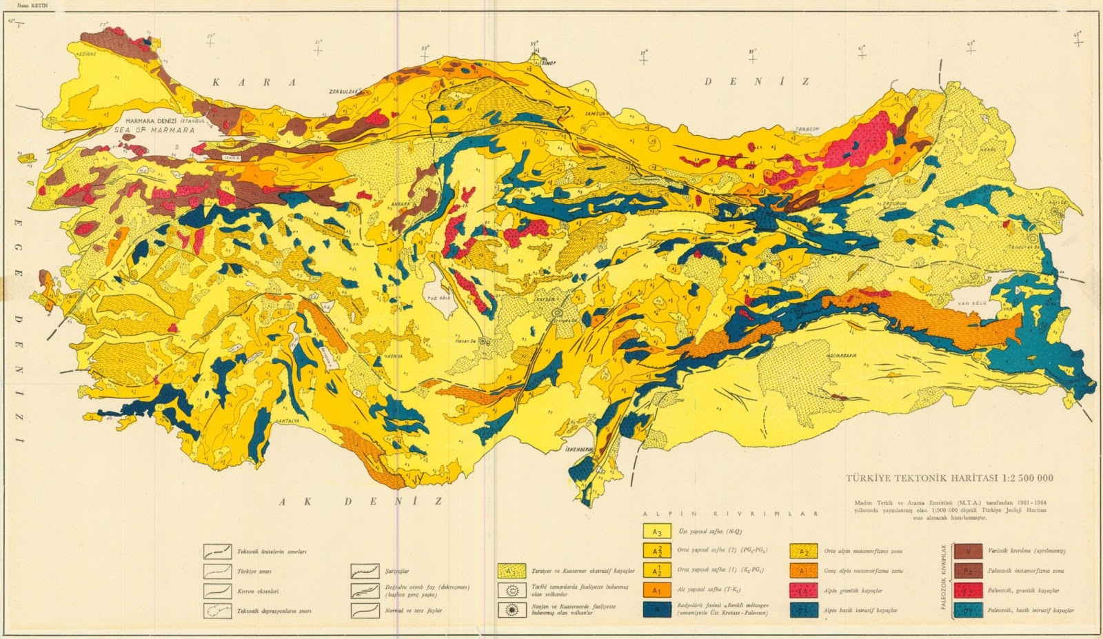 Map Of Tectonic Movements In Turkey Turkey Physical Political Maps Of The City