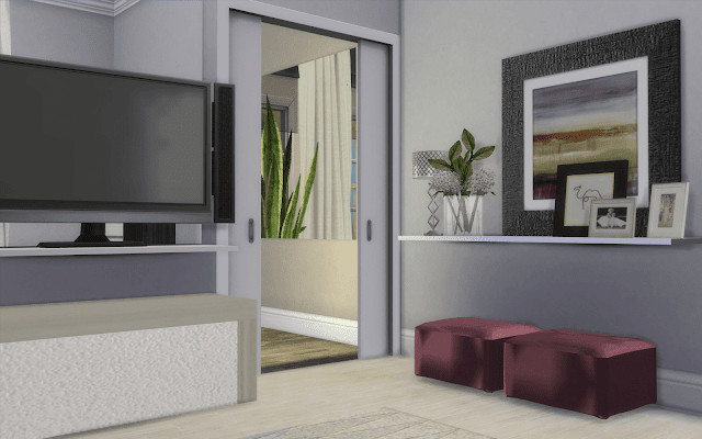 bedroom white sims 4