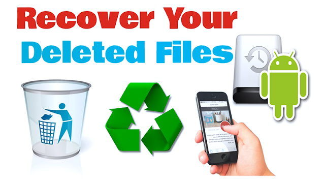 Recover deleted photos in android