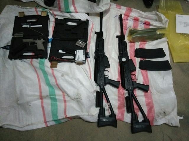 TNI Amankan Empat Boks Senjata Api di Bandara Fatmawati Bengkulu