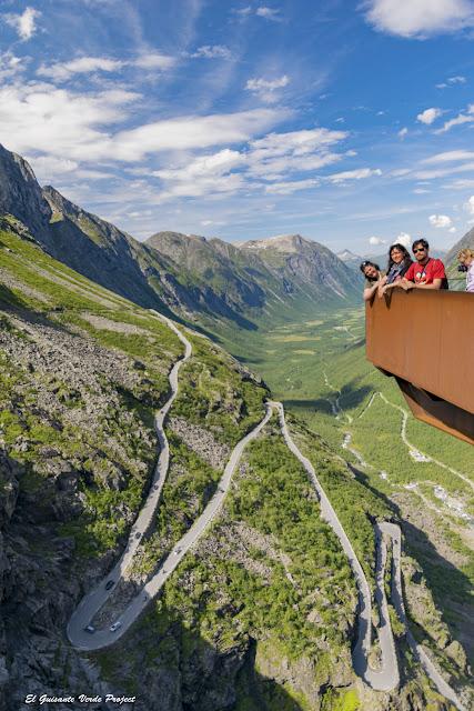 Trollstigheimen mirador - Noruega por El Guisante Verde Project
