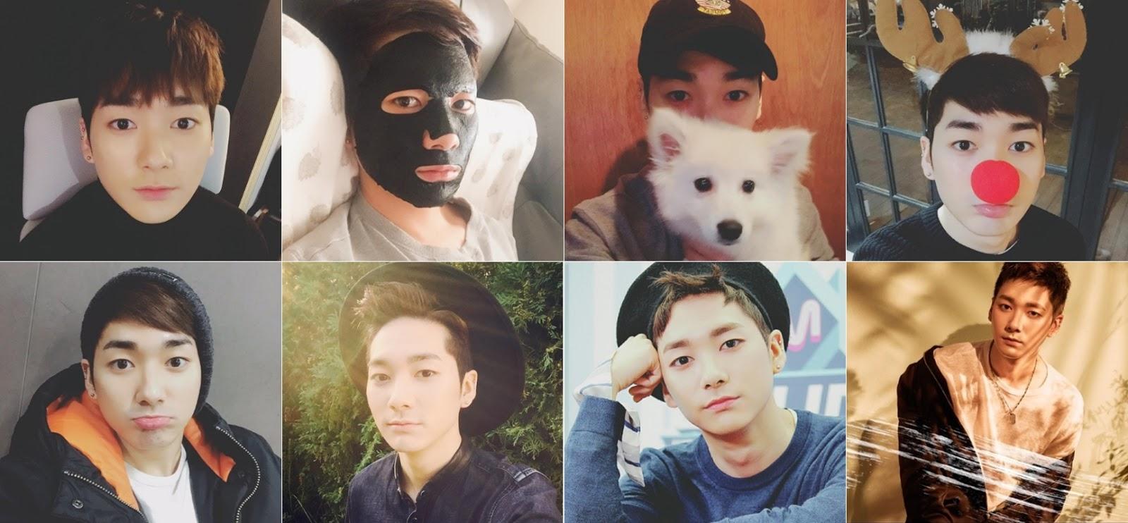 Grupo de K-pop Nu'est - Aron