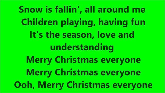 Happy Christmas Lyrics
