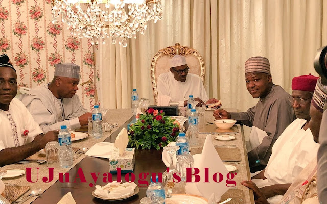 JUST IN: President Buhari Hosting Saraki, Dogara To A Private Dinner
