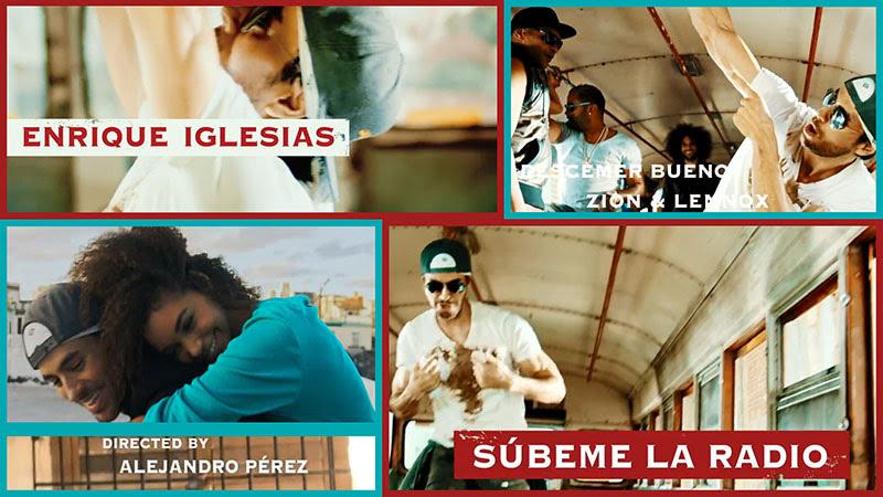 Enrique Iglesias - Descemer Bueno - Zion & Lennox - ¨Súbeme la radio¨ - Videoclip - Dirección: Alejandro Pérez. Portal Del Vídeo Clip Cubano - 01
