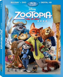 Zootopia (2016) 720p 1.2GB BluRay [Hindi DD 2.0 - English DD 5.1] MKV