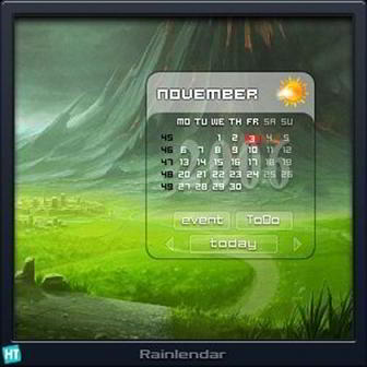 Rainlendar Pro 2.11 Build 126