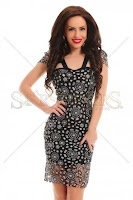 Rochie Artista Lovely Illusion Black (Artista)