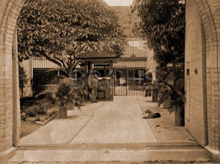 Rockhampton Gaol, c.1913, scene of a Queensland execution.
