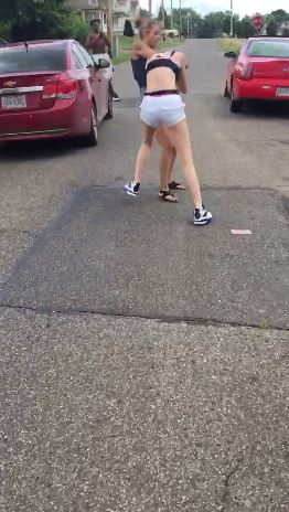 Watch This Chick Get The Sh*t Kicked Outta Her...Literally!