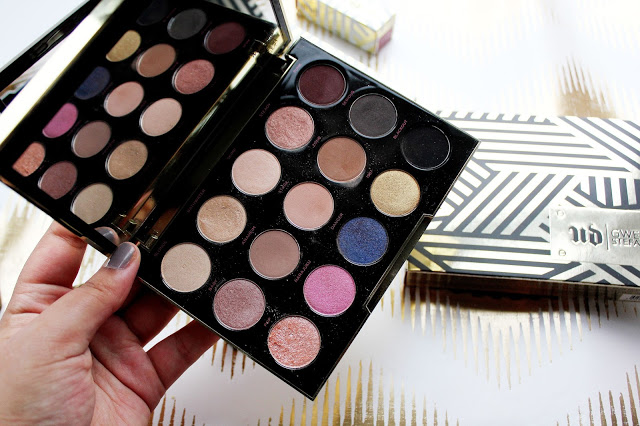 Urban Decay x Gwen Stefani Eyeshadow Palette Review