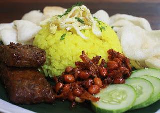 Cara Membuat Nasi Kuning Dengan Sambal Teri Yang Lezat