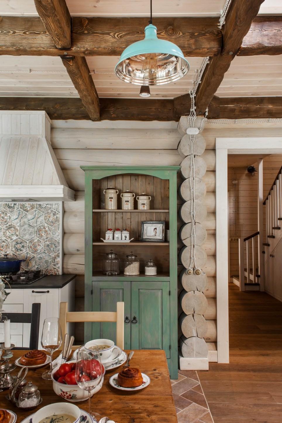 Decordemon An Elegant Log Cabin By Id Interior