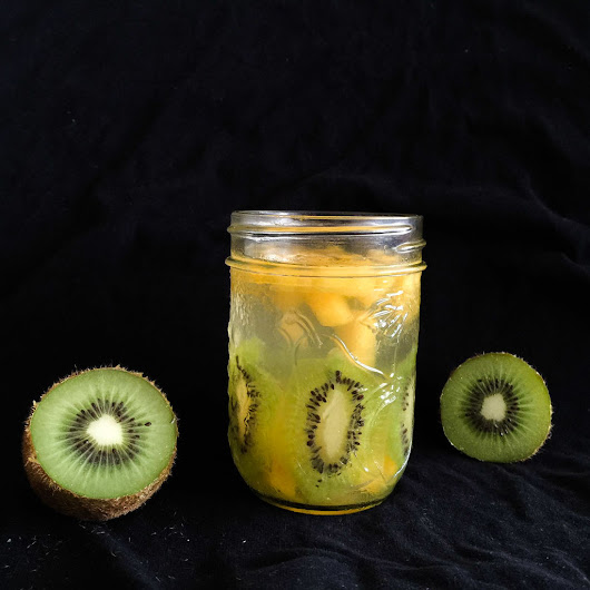 Coconut Water Fruit Jelly