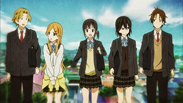 Kokoro Connect - Anime NTR romance school yang bikin nangis dan nyesak