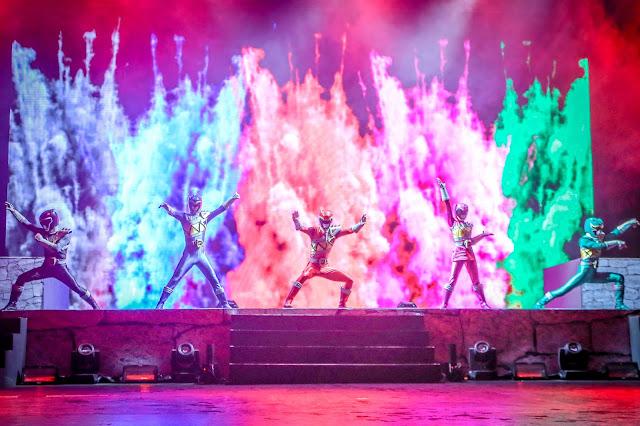Jom Tengok Power Rangers Live In Genting 2016