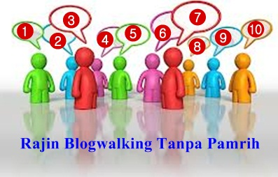 10 Blogger yang Rajin Blogwalking Tanpa Pamrih
