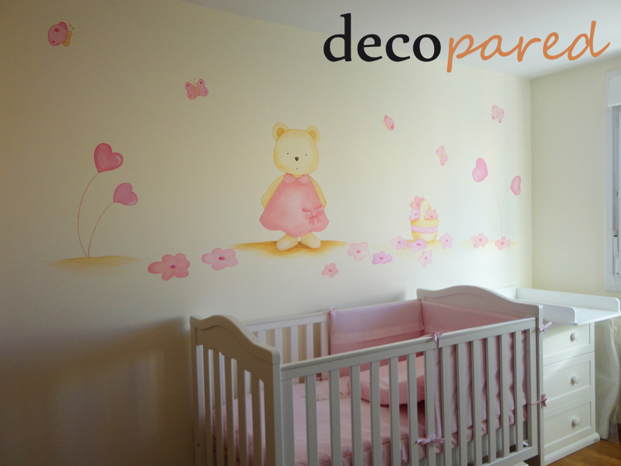 Decopared murales para bebes - Dibujo pared habitacion infantil ...