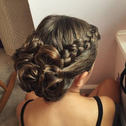 Elegant Updo Hairstyles For Long Hair