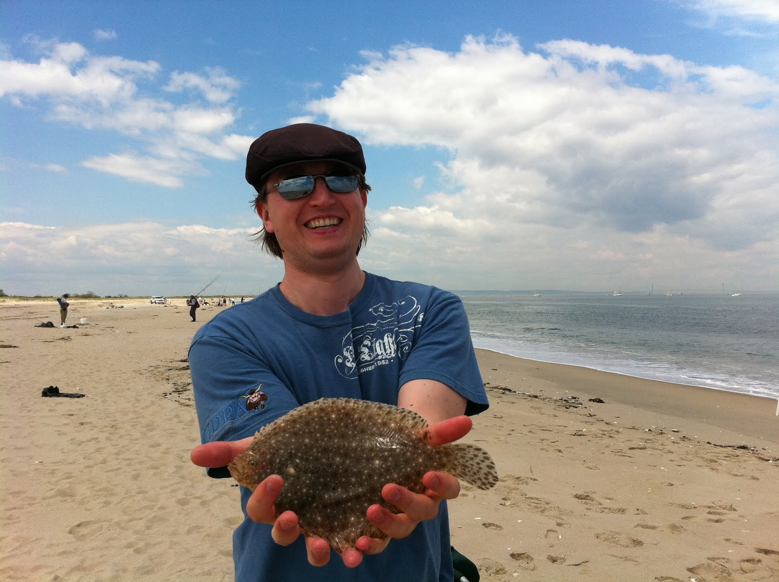 Merks Fishing Report 2011 05 21 Surf Fishing Sandy Hook Nj