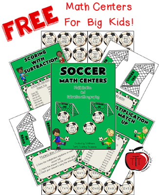 https://www.teacherspayteachers.com/Product/Soccer-Math-Centers-Multiplication-and-Subtraction-2389060